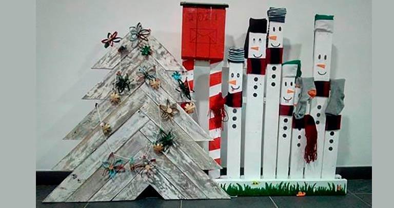 Acciones de la UDC de Barajas en Navidad