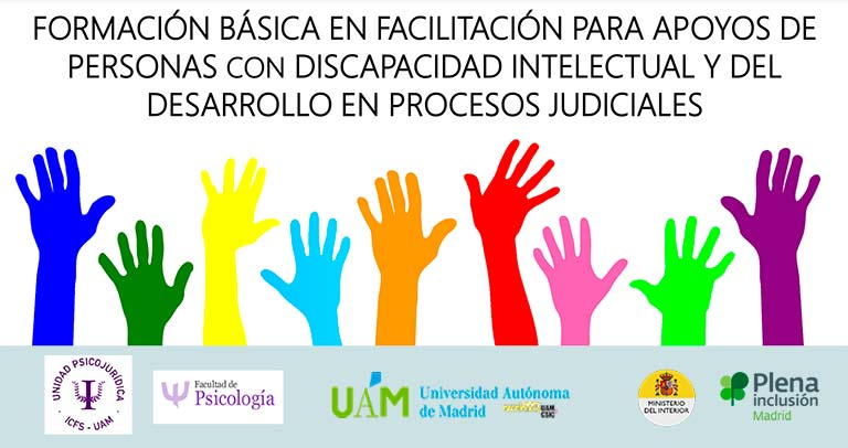 Curso de facilitador de justicia para personas con discapacidad intelectual