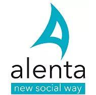 logotipo de alenta