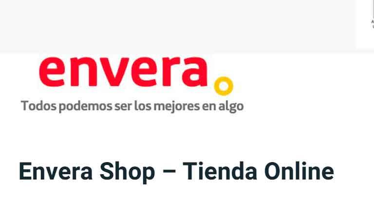Pantallazo de EnveraShop