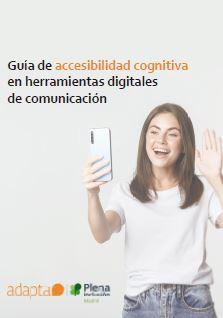 portada Guía de accesibilidad cognitiva en herramientas digitales para la comunicación