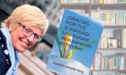 Susan Webster, autora del libro '¡Gracias por tus sonrisas!'