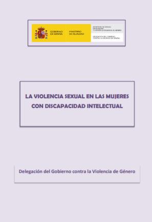 La violencia sexual en las mujeres con discapacidad intelectual