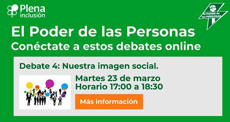 Debate sobre la imagen social de las personas con discapacidad