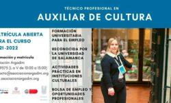 Formación de auxiliar de cultura de Argadini
