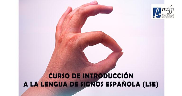 Imagen del curso de lengua de signos