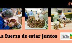 Imágenes del proyecto de cerámica en Grupo Amás