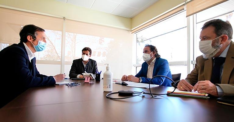 Reunión con el Ayuntamiento de Las Rozas