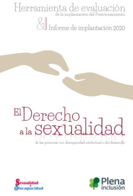 Herramienta de evaluación e informe de implantación del posicionamiento de sexualidad 2020