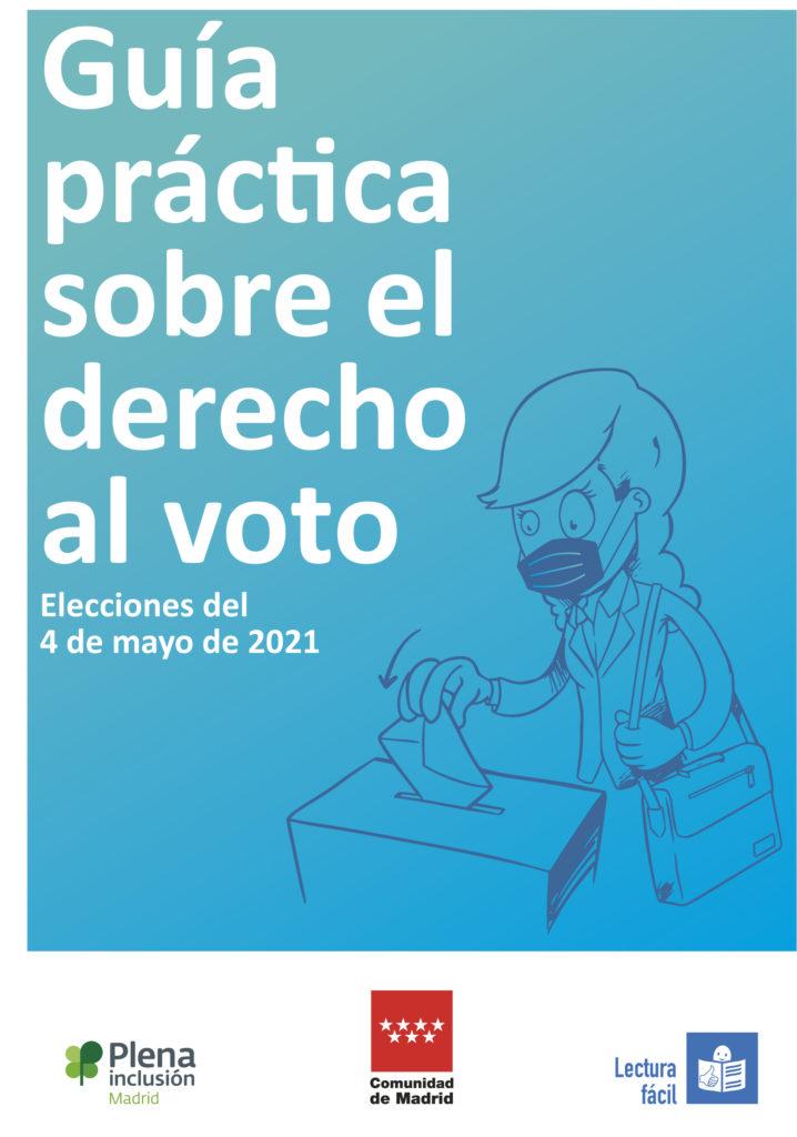 Portada de la guía de elecciones 4M en lectura fácil