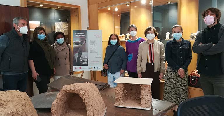 Imagen de la inauguración de la exposición 'La fuerza de estar juntos'
