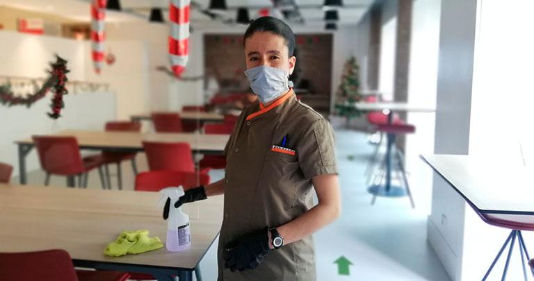 Una de las participantes en 'DI_Talento' de Down Madrid
