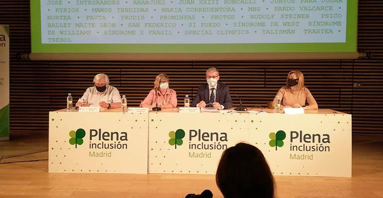 Una imagen de la Asamblea General de Plena Inclusión Madrid