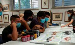 Imagen del proyecto de aprendizaje-servicio de Bellas Artes