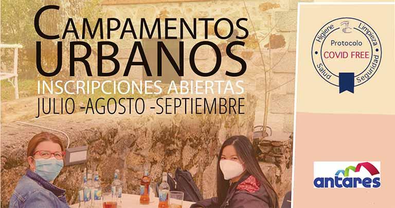 Campamentos urbanos de Asociación Antares