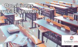 Oposiciones para operario/a de servicios generales