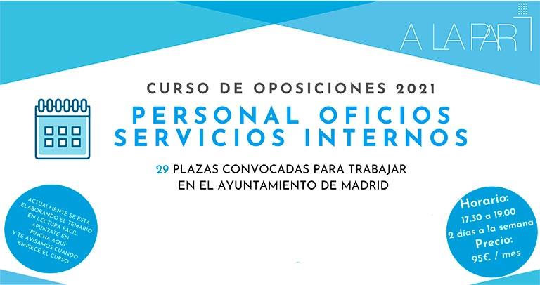 Preparación de oposiciones del Ayuntamiento de Madrid
