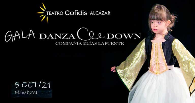 Gala Danza Down. Cartel anunciador