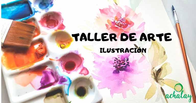 Taller de ARte. Ilustración. Achalay