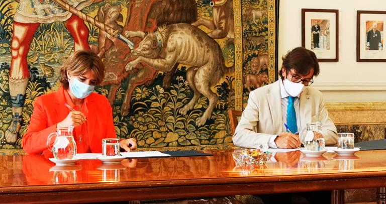 La Fiscal general y el presidente de Plena Inclusión firman el acuerdo