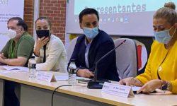 Miguel Iglesias, Luisa Roldán, Javier Luengo y Mar Torres