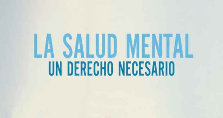 fragmento del cartel por el día mundial de la salud mental