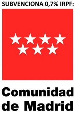 logotipo de Comunidad de Madrid IRPF